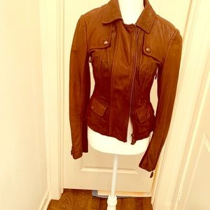 Max and Co Leather jacket size 6